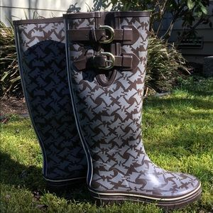 NEVER WORN Juicy Couture Rain Boots